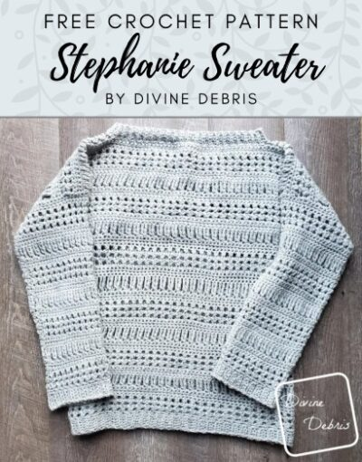 Free Crochet Pattern Stephanie Sweater