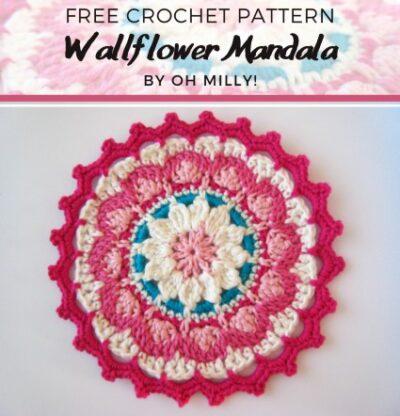 Free Crochet Pattern Wallflower Mandala