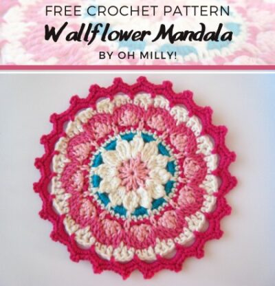 Free Crochet Pattern Wallflower Mandala
