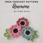 Free Crochet Pattern Anemone