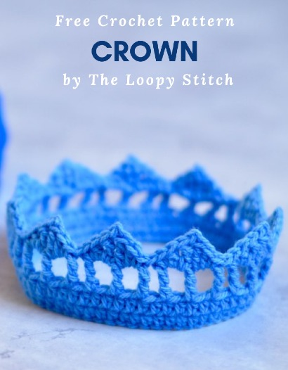 Free Crochet Pattern Crown