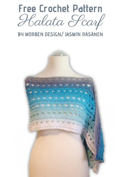 Free Crochet Pattern Halata Scarf