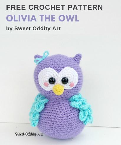 Free Crochet Pattern Olivia the Owl