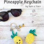 Free Crochet Pattern Pineapple Keychain