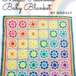 Free Crochet Pattern Rainbow Blanket