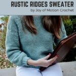 Free Crochet Pattern Rustic Ridges Sweater
