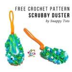 Free Crochet Pattern Scrubby Duster