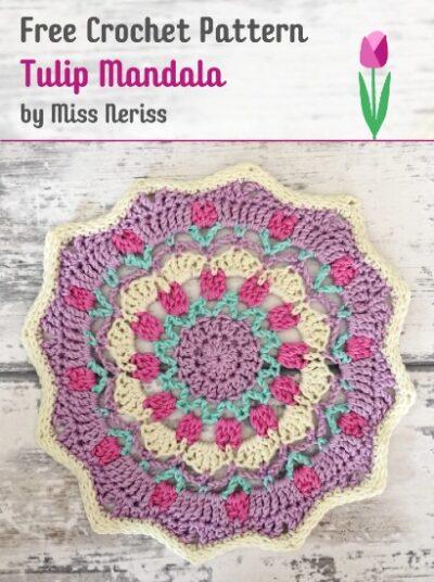 Free Crochet Pattern Tulip Mandala