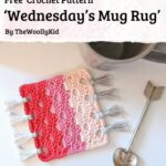 Free Crochet Pattern Wednesday's Mug Rug