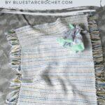 Free Crochet Pattern Woven Baby Blanket
