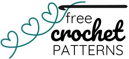 Logo heart Free crochet patterns