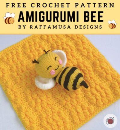 Free Crochet Pattern Amigurumi Bee