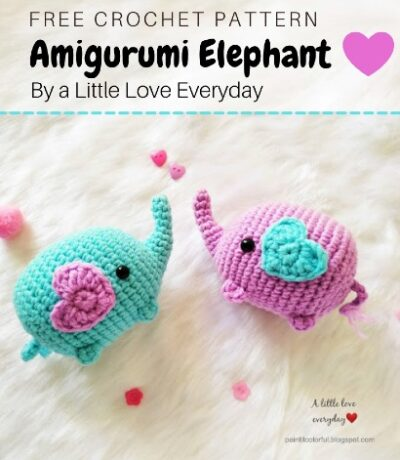 Free Crochet Pattern Amigurumi Elephant