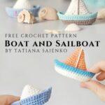 Free Crochet Pattern Boat and Sailboat