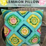 Free Crochet Pattern Lemmon Pillow