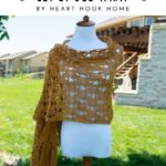 Free Crochet Pattern Let It Bee Wrap
