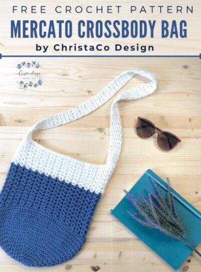 Free Crochet Pattern Mercato Crossbody Bag