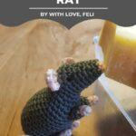Free Crochet Pattern Rat