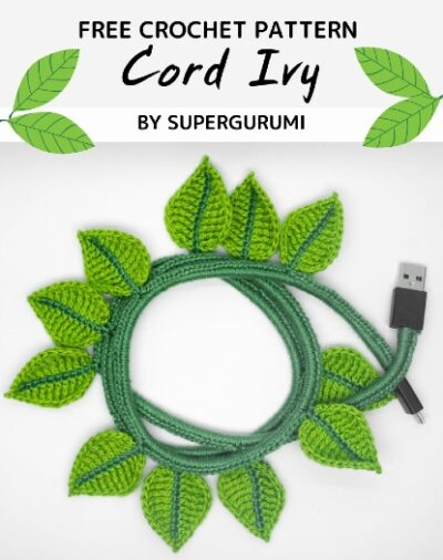 Free Crochet Pattern Cord Ivy