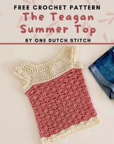 Free Crochet Pattern The Teagan Top