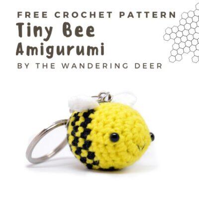 Free Crochet Pattern Tiny Bee Amigurumi