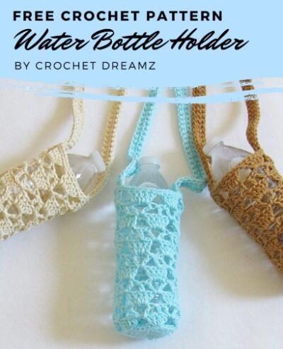 Free Crochet Pattern Water Bottle Holder