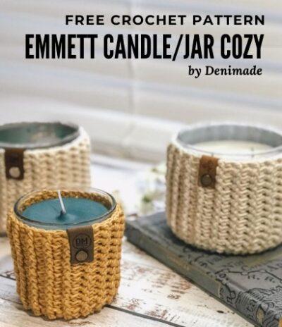Free Crochet Pattern Emmet Jar Cozy
