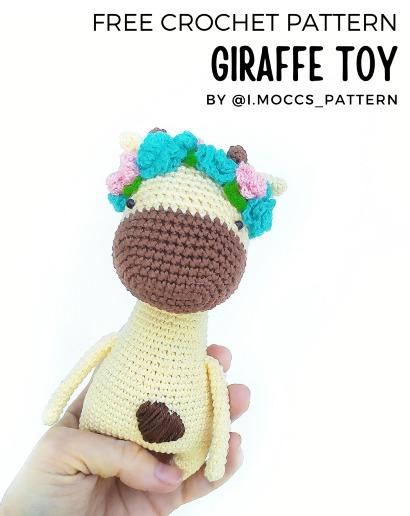 Free Crochet Pattern Giraffe Toy