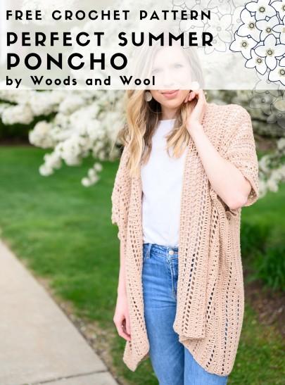 Free Crochet Pattern Perfect Summer Poncho
