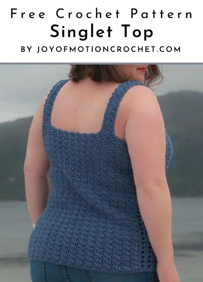 Free Crochet Pattern Singlet Top