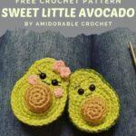 Free Crochet Pattern Sweet Little Avocado