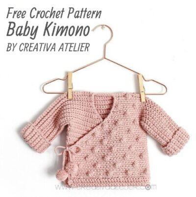 Free Crochet Pattern Baby Kimono