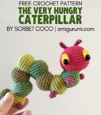 Free Crochet Pattern Caterpillar