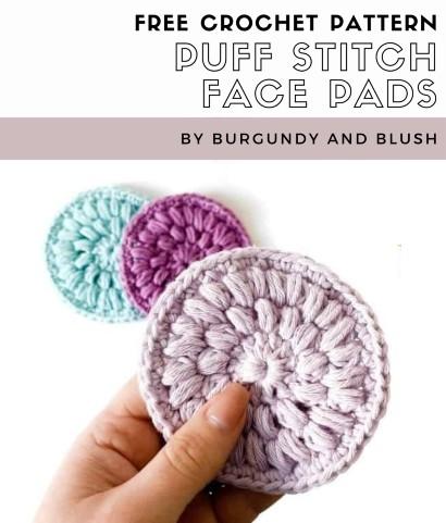 Free Crochet Pattern Face Pads