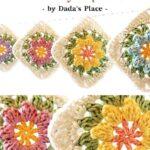 Free Crochet Pattern Flowers Granny Square