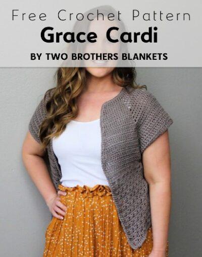 Free Crochet Pattern Grace Cardi