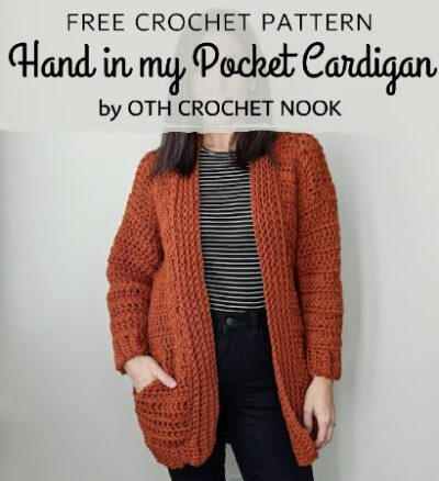 Free Crochet Pattern Pocket Cardigan