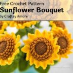 Free Crochet Pattern Sunflower Bouquet