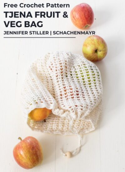 Free Crochet Pattern Tjena Fruit Veg Bag