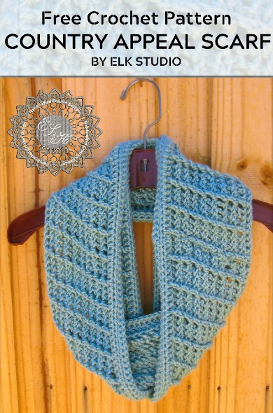 Free Crochet Pattern Country Appeal Scarf