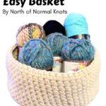 Free Crochet Pattern Easy Basket