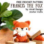 Free Crochet Pattern Francis the Fox