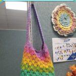 Free Crochet Pattern Mermaid Market Bag