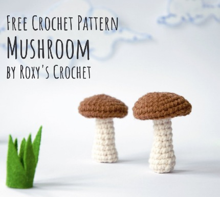 Free Crochet Pattern Mushroom