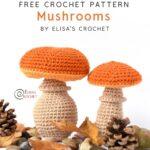 Free Crochet Pattern Mushrooms