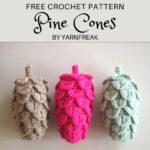 Free Crochet Pattern Pine Cones