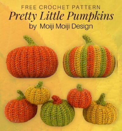 Free Crochet Pattern Pretty Little Pumpkins