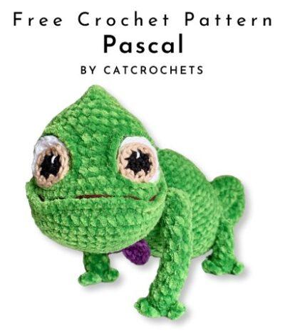 Free Crochet Pattern Reptile Pascal