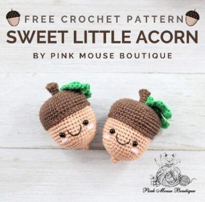 Free Crochet Pattern Sweet Little Acorn