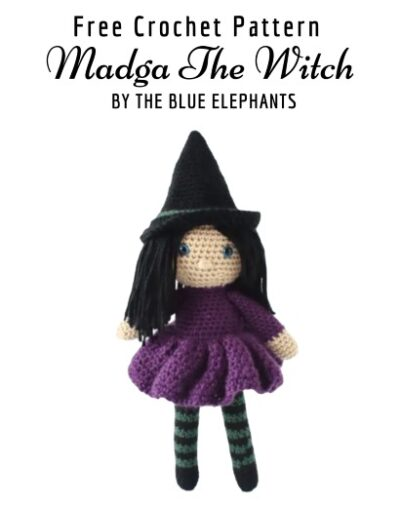 Free Crochet Pattern Magda The Witch